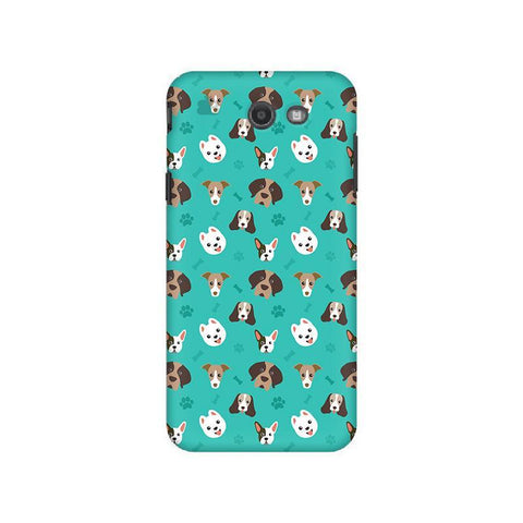 Doggie Pattern Samsung J7 2017 Cover