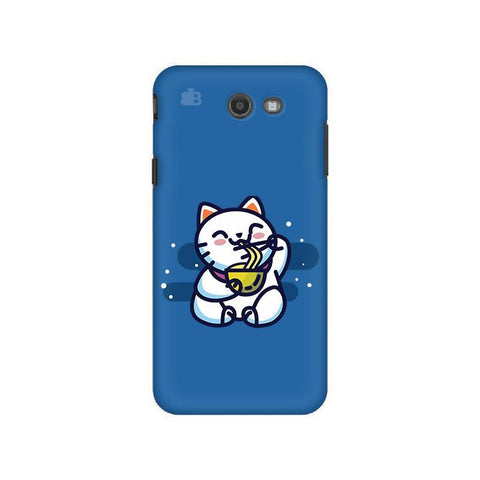 KItty eating Noodles Samsung J7 2017 Cover