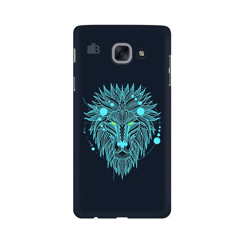 Abstract Art Lion Samsung J7 Max Cover