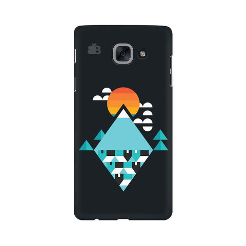 Abstract Mountains Samsung J7 Max Cover