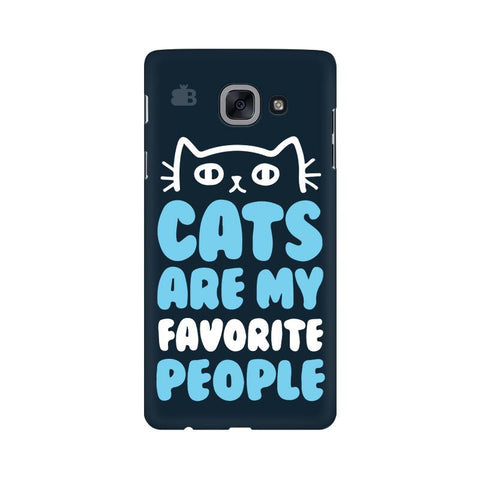 Cats favorite People Samsung J7 Max Cover