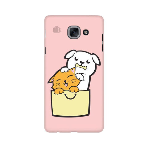 Kitty Puppy Buddies Samsung J7 Max Cover
