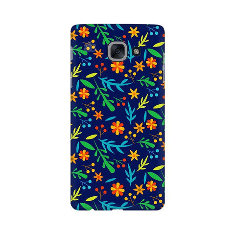 Vibrant Floral Pattern Samsung J7 Max Cover