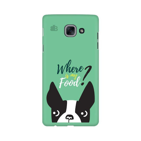 Where is my Food Samsung J7 Max Cover