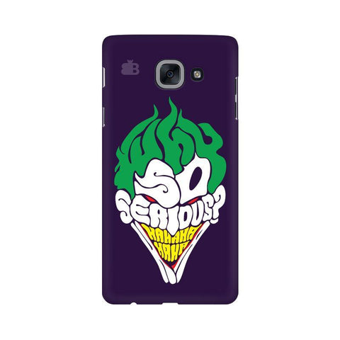 Why So Serious Samsung J7 Max Cover