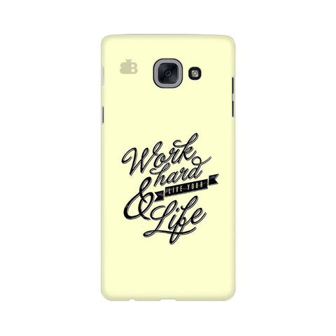 Work Hard Samsung J7 Max Cover