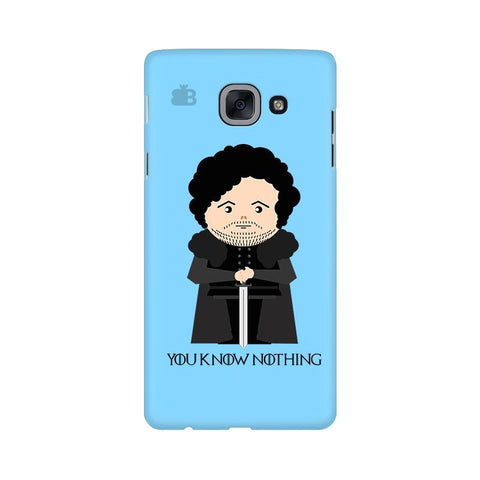 You Know Nothing Samsung J7 Max Cover