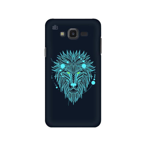 Abstract Art Lion Samsung J7 NXT Cover