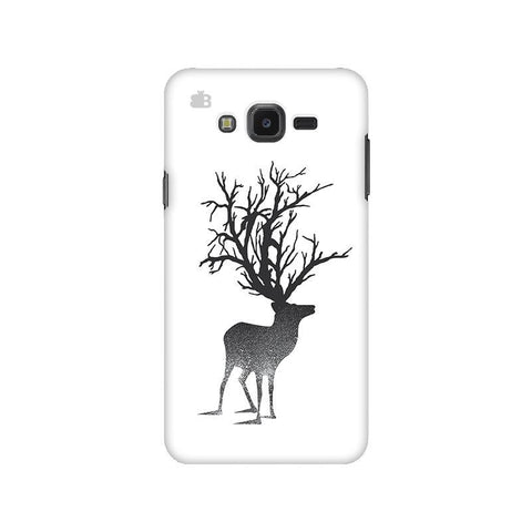 Abstract Deer Samsung J7 NXT Cover
