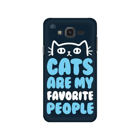 Cats favorite People Samsung J7 NXT Cover