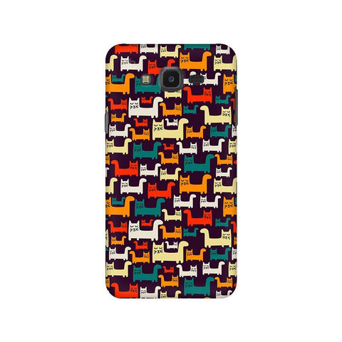 Chill Cats Samsung J7 NXT Cover