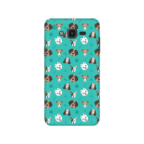 Doggie Pattern Samsung J7 NXT Cover