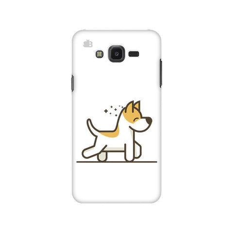 Happy Puppy Samsung J7 NXT Cover