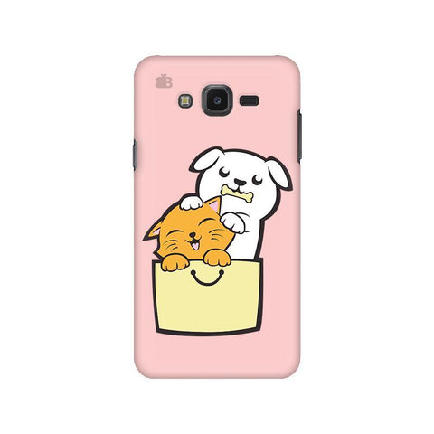 Kitty Puppy Buddies Samsung J7 NXT Cover