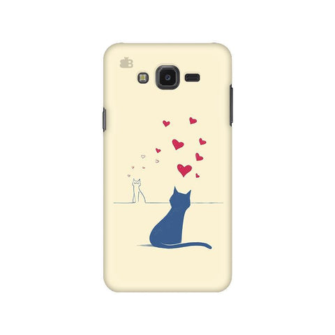 Kitty in Love Samsung J7 NXT Cover