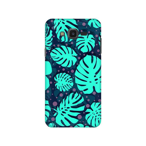 Tropical Leaves Pattern Samsung J7 NXT Cover