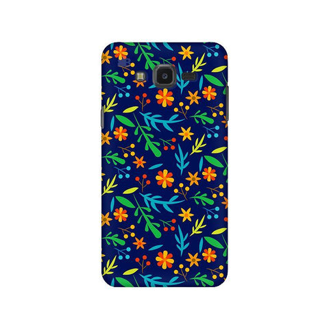 Vibrant Floral Pattern Samsung J7 NXT Cover