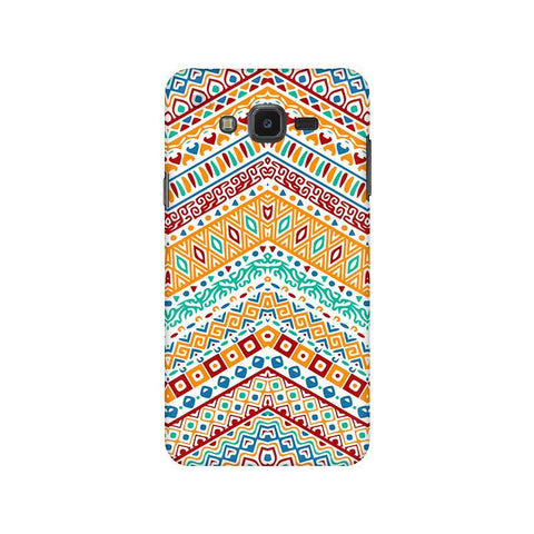 Wavy Ethnic Art Samsung J7 NXT Cover