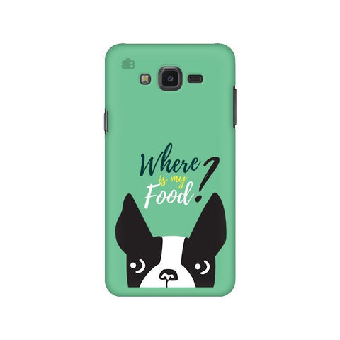 Where is my Food Samsung J7 NXT Cover