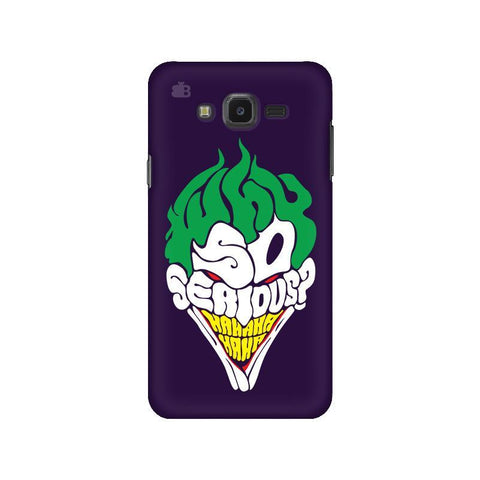 Why So Serious Samsung J7 NXT Cover