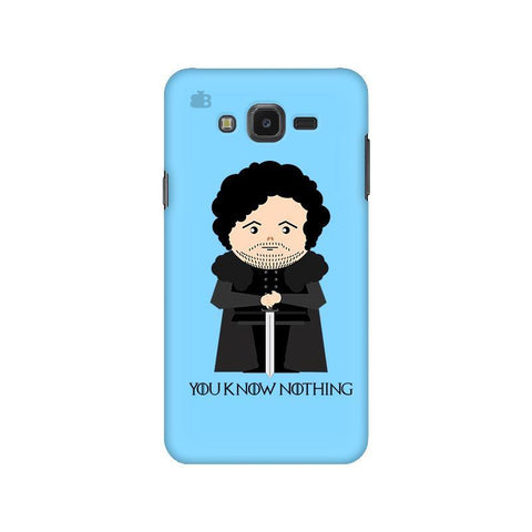 You Know Nothing Samsung J7 NXT Cover