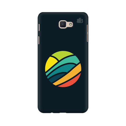 Abstract Circle Samsung J7 Prime Cover