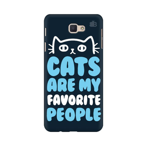 Cats favorite People Samsung J7 Prime Cover