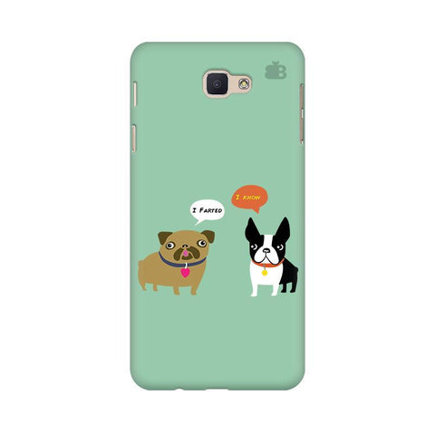 Cute Dog Buddies Samsung J7 Prime Cover