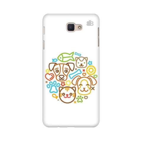 Cute Pets Samsung J7 Prime Cover