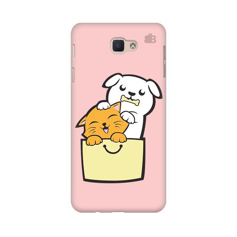 Kitty Puppy Buddies Samsung J7 Prime Cover