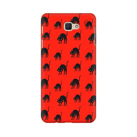 Scary Cats Samsung J7 Prime Cover