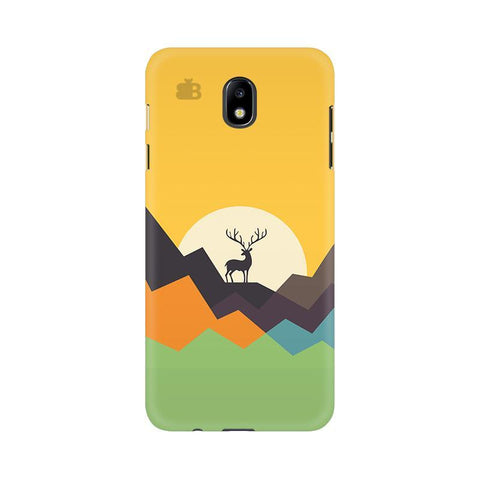 Deer in Mountains Samsung J7 Pro Cover