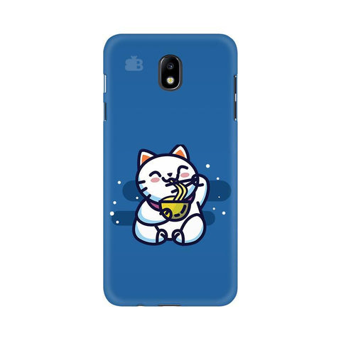 KItty eating Noodles Samsung J7 Pro Cover