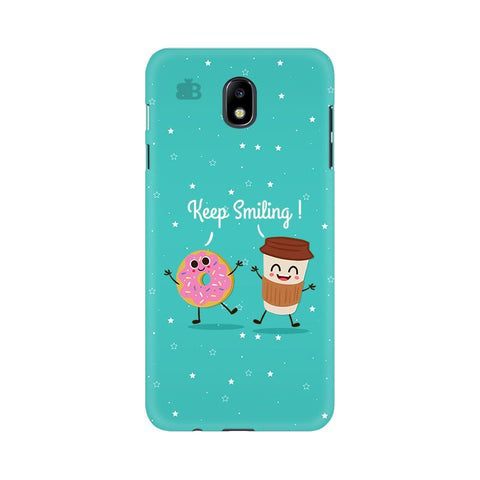 Keep Smiling Samsung J7 Pro Cover
