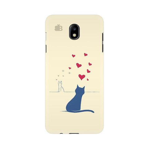 Kitty in Love Samsung J7 Pro Cover