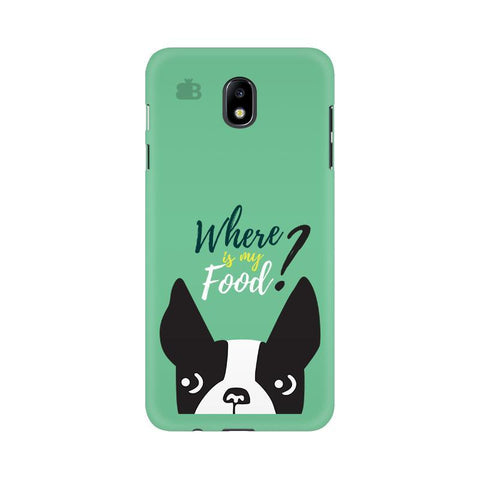 Where is my Food Samsung J7 Pro Cover
