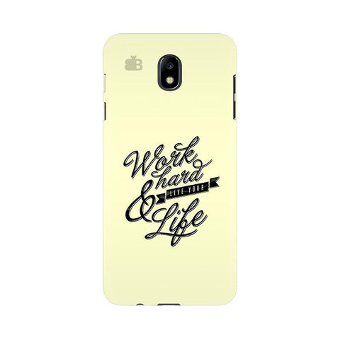 Work Hard Samsung J7 Pro Cover