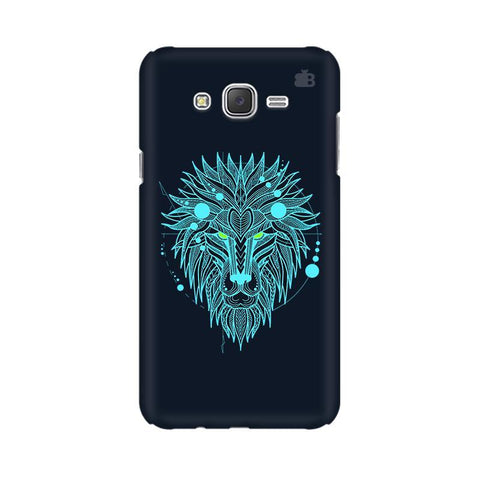 Abstract Art Lion Samsung J7 Cover