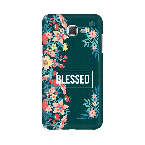 Blessed Floral Samsung J7 Cover