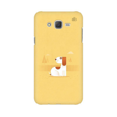 Calm Dog Samsung J7 Cover