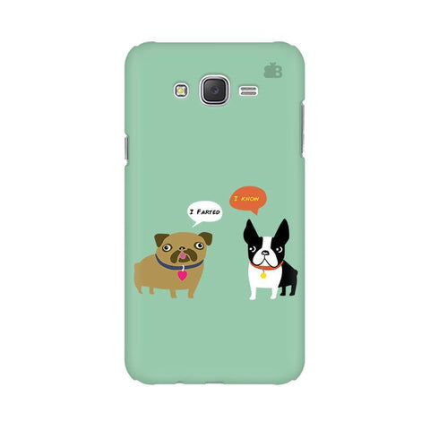 Cute Dog Buddies Samsung J7 Cover