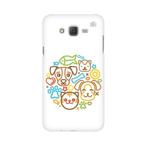 Cute Pets Samsung J7 Cover