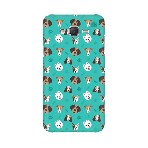 Doggie Pattern Samsung J7 Cover