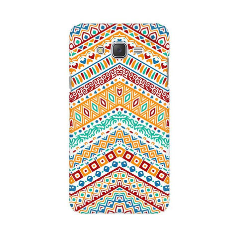 Wavy Ethnic Art Samsung J7 Cover