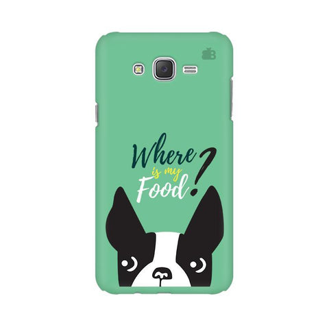 Where is my Food Samsung J7 Cover