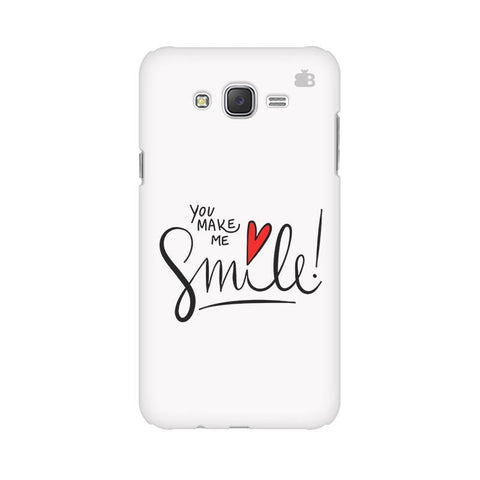 You make me Smile Samsung J7 Cover