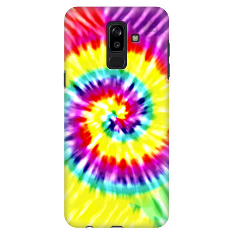 Tie Die Art Samsung J8 Plus Cover