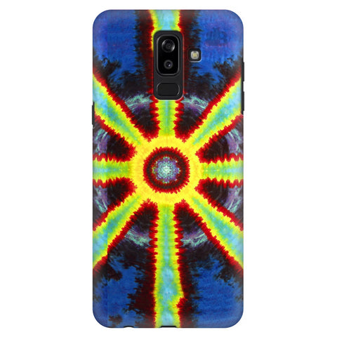 Tie Die Pattern Samsung J8 Plus Cover