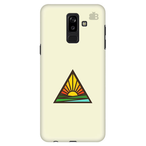 Triangular Sun Samsung J8 Plus Cover