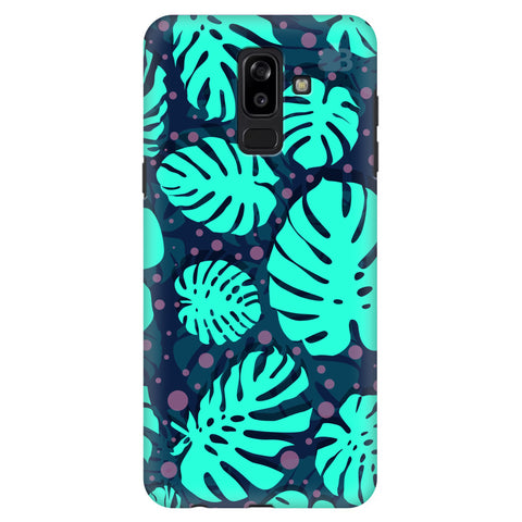 Tropical Leaves Pattern Samsung J8 Plus Cover